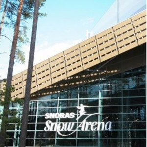 Snow arena ekskursija