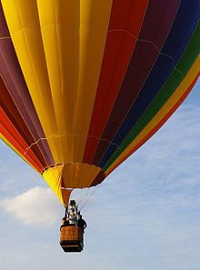 oro balionu Druskininkuose